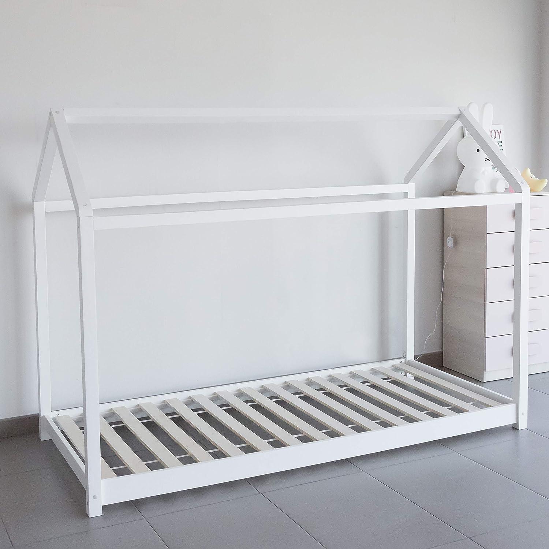 Cama montessori color blanco: Amazon.es: Hogar