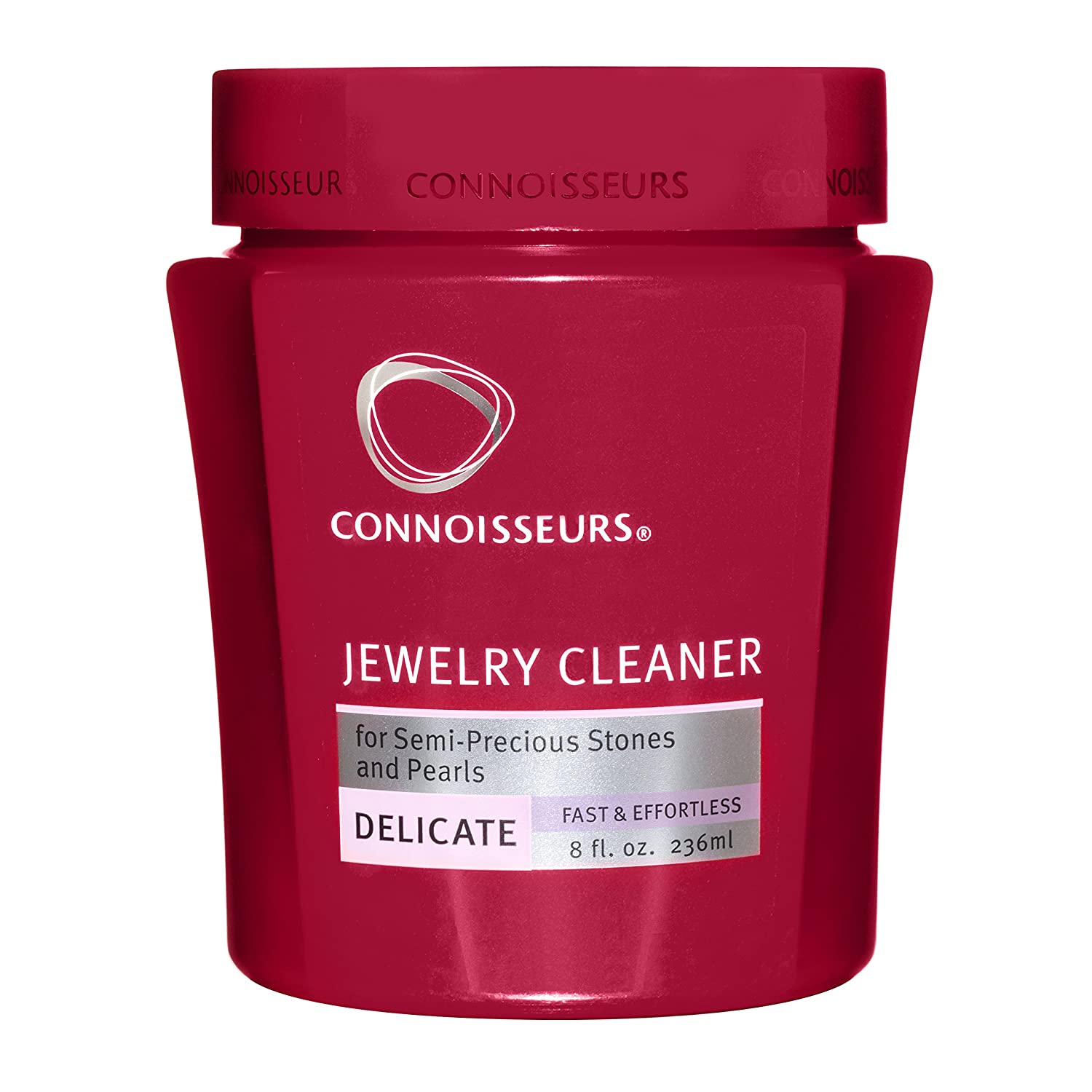 Connoisseurs Delicate Jewellery Cleaner, safe on Pearls, Opals, Purus stones & Costume Jewellery. 236ml 1047