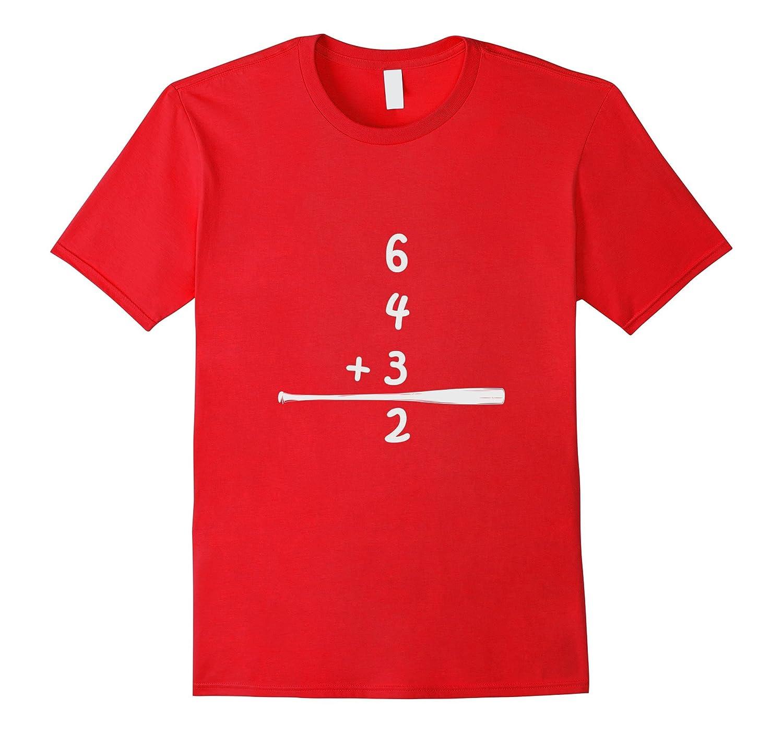 Classic Baseball: 6-4-3-2 Double Play Shirt-BN