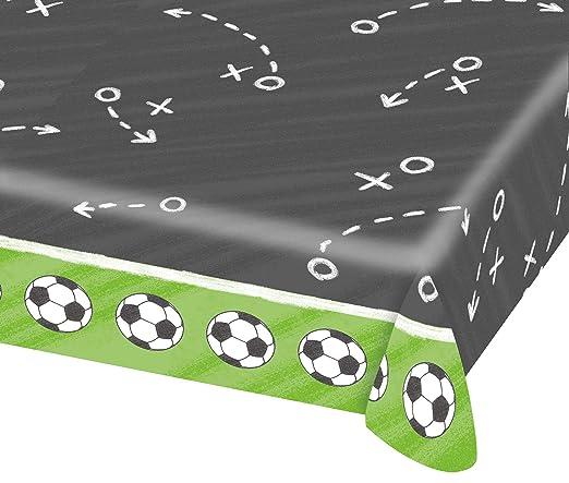 Mantel de papel * Balones de Fútbol * para WM 2018 de fiesta ...