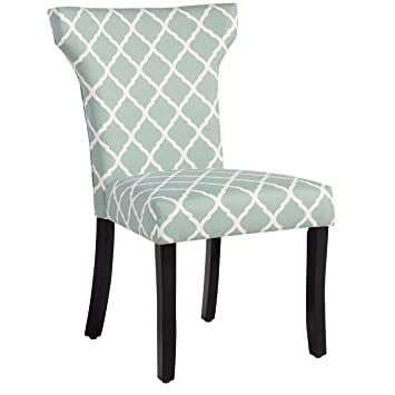 Superbe Plainville Lattice Dining Chair, Dining Chair (Sea Foam Lattice)