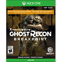 Ghost Recon Breakpoint - Steelbook Gold Edition - Xbox One