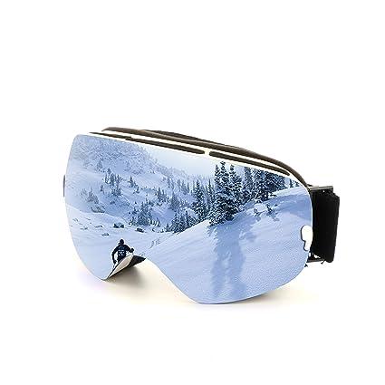 92e8090989ca spiid Snow Ski Goggles Ski Snowboarding Goggles UV Protection Anti-Fog Snow  Goggles Ventilated Skiing