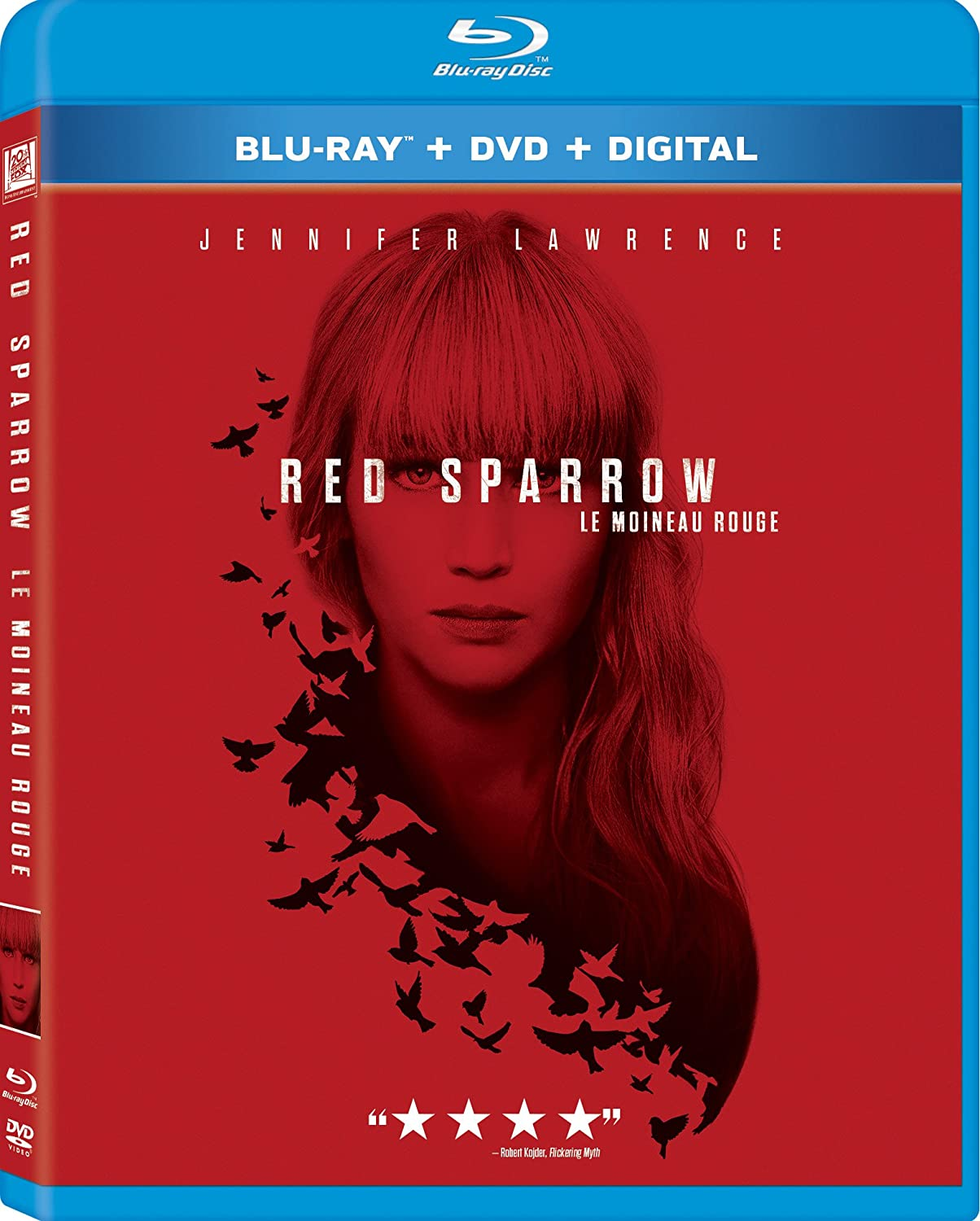 Red Sparrow [Blu-ray] (Bilingual): Amazon.ca: DVD
