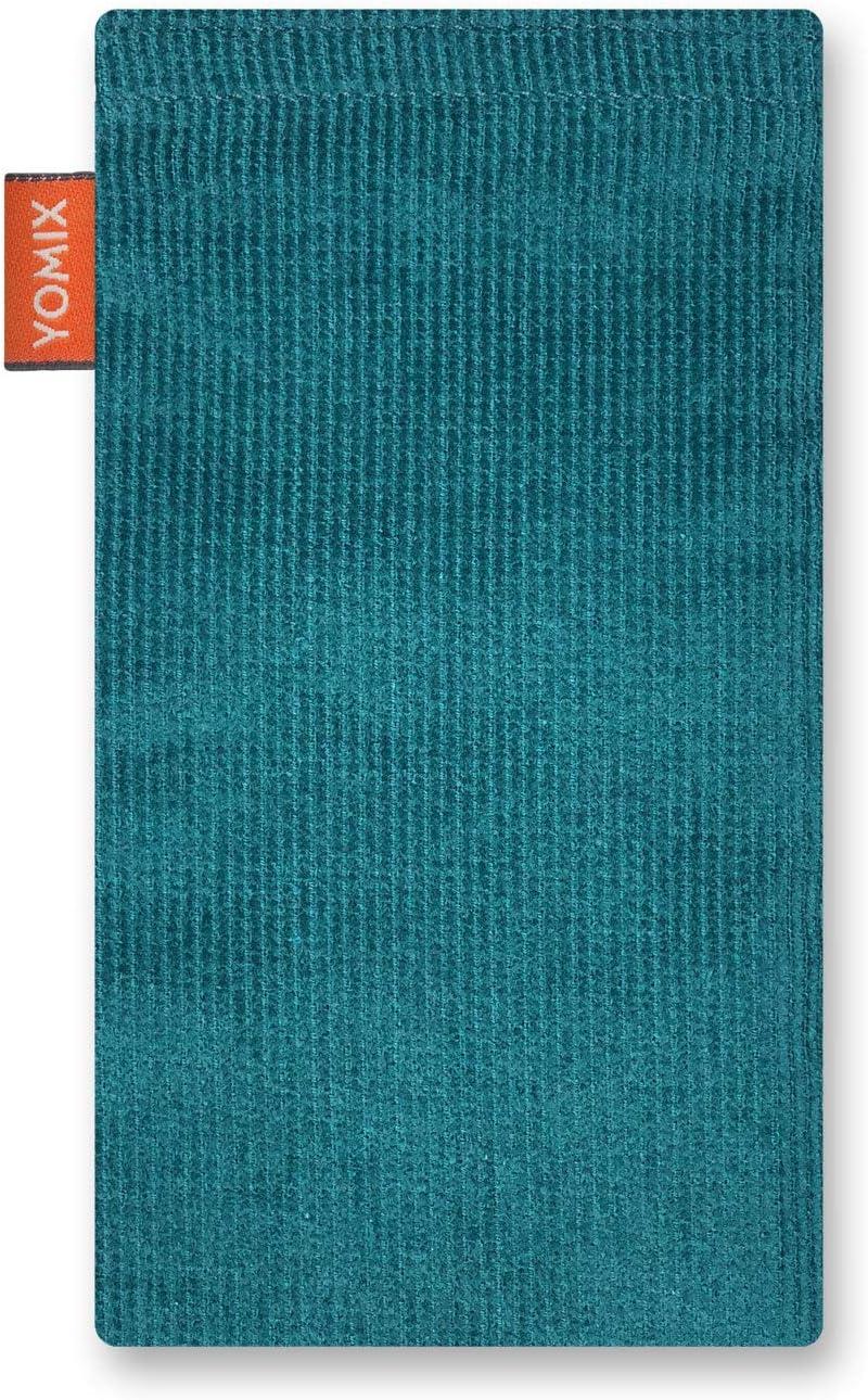 H/ülle mit Reinigungsfunktion Made in Germany YOMIX Finn mit Strahlenschutz Handytasche Tasche f/ür Samsung Galaxy M30s aus beschichteter Baumwolle mit Microfaserinnenfutter