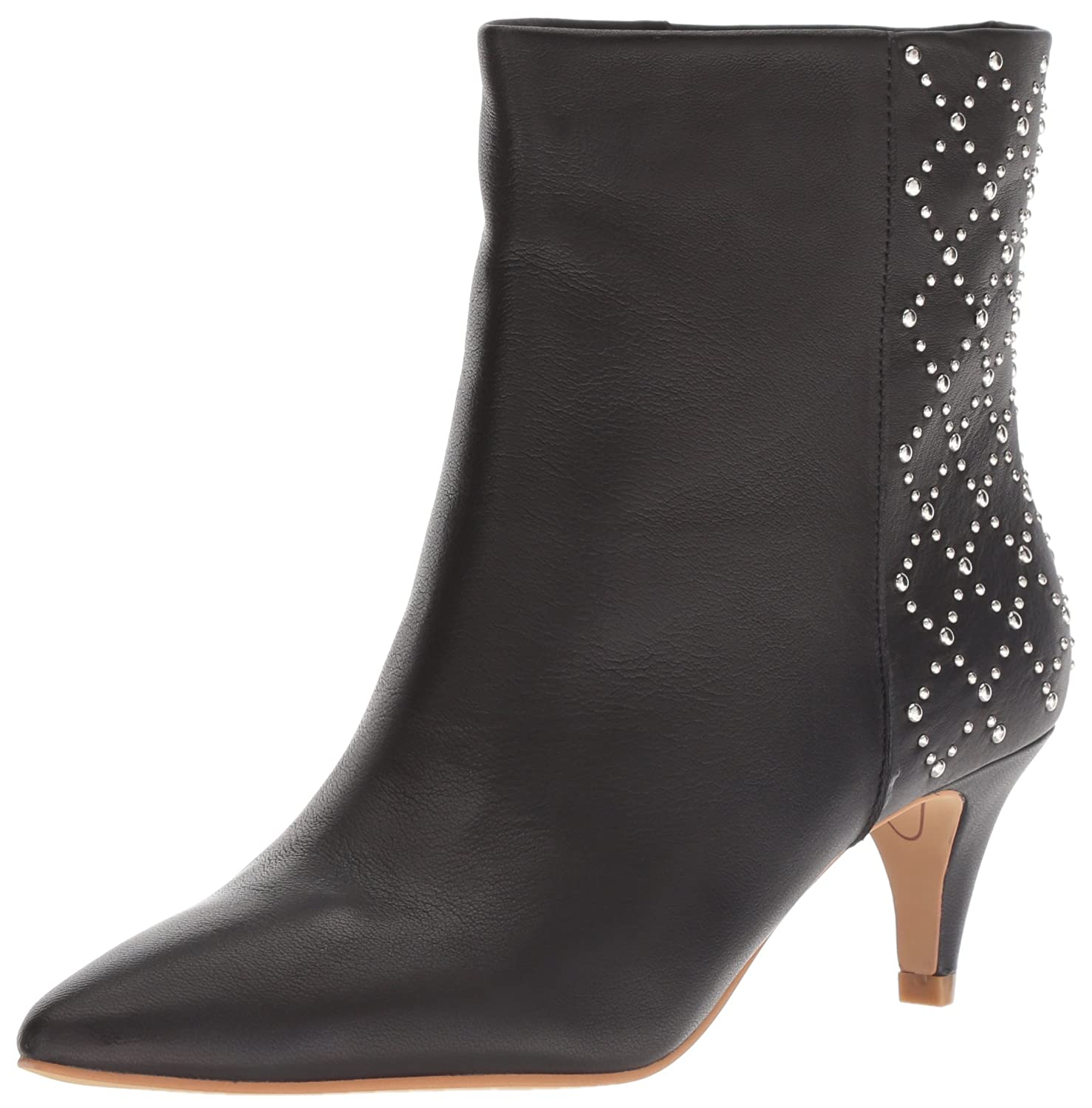 Dolce Vita Women's Dot Ankle Boot Leather B07C9LN2YZ 6.5 M US|Black Leather Boot 9bbf2d