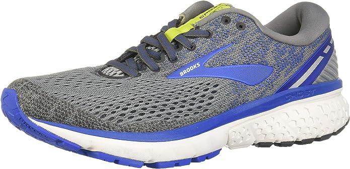 Brooks Ghost 11 Sneakers Laufschuhe Herren Grau/Blau/Gelb