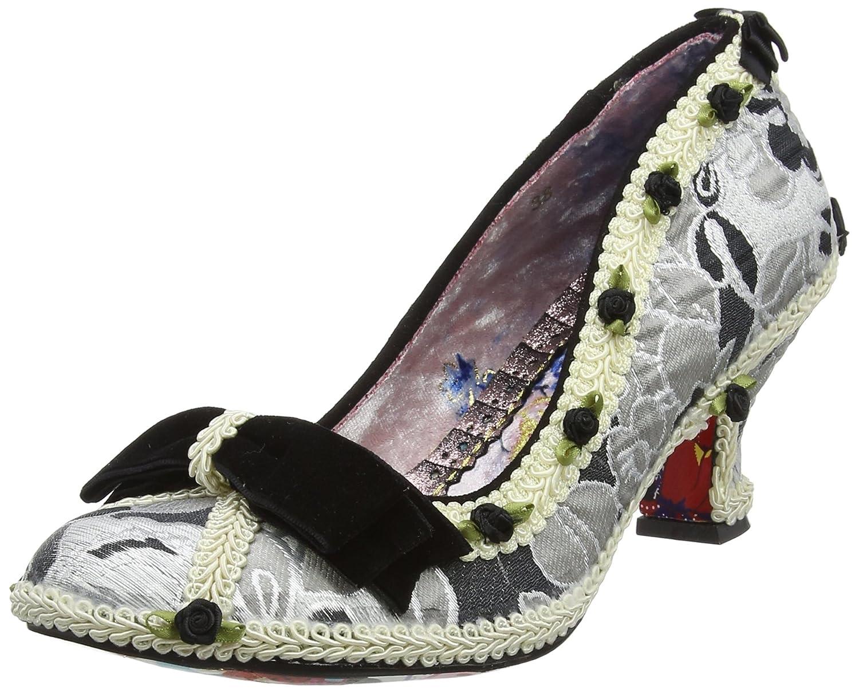 Irregular Choice Bish Bash Bow - Zapatos de tacón con Punta Cerrada Mujer