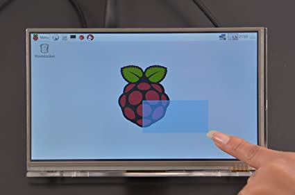 Amazon com: Venel Raspberry Pi 7 Inch HDMI HD 1024 600 With