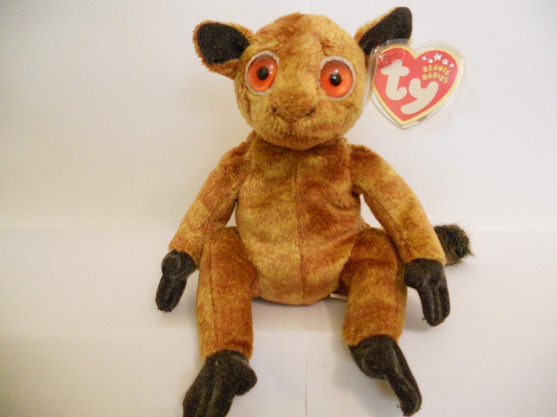 Amazon.com: TY Beanie Baby - GIZMO The Lemur: Toys & Games