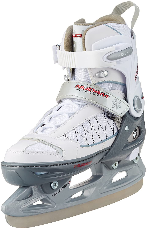 Nijdam Kinder Eishockeyschlittschuh Icehockey Skate verstellbar