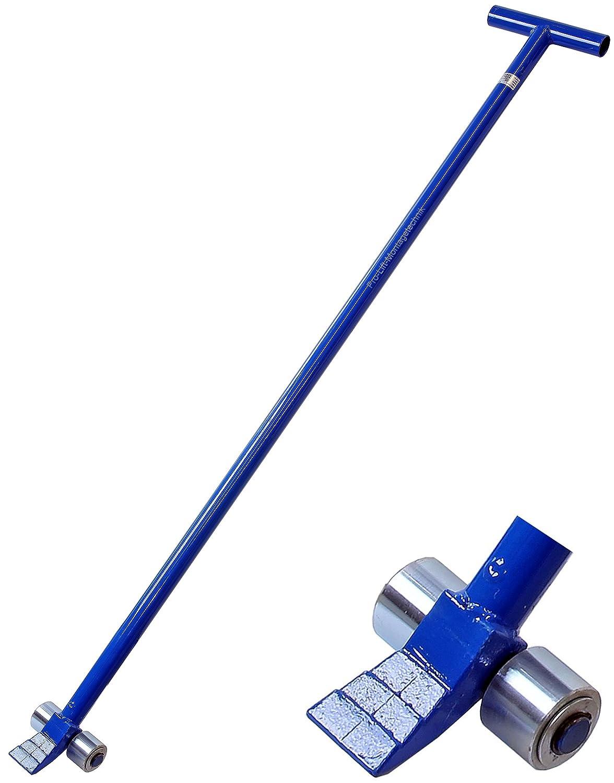 Brechstange 1400 mm mit Nagelzieher Hebe- blau