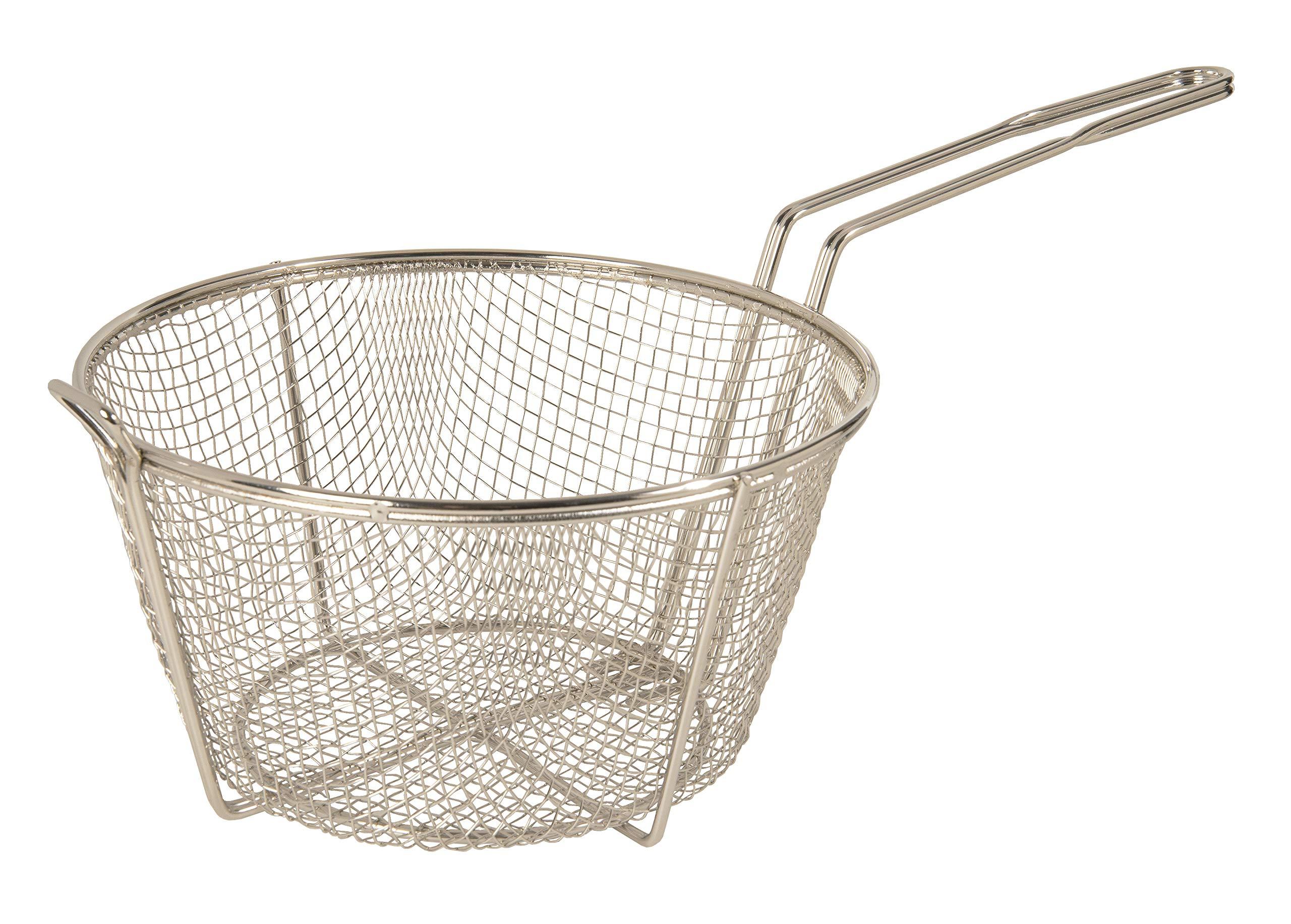 Update International (FB-9) 9 1/2'' Round Wire Fry Basket