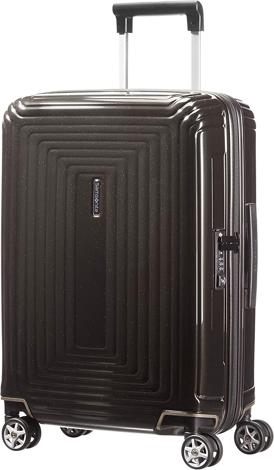 Samsonite Neopulse - Spinner S (Ancho: 20 cm) Maleta, 55 cm, 38 L, Negro (Metallic Black)