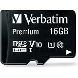 Verbatim 44082 16 GB Klasse 10 Micro SDHC mit Adapter