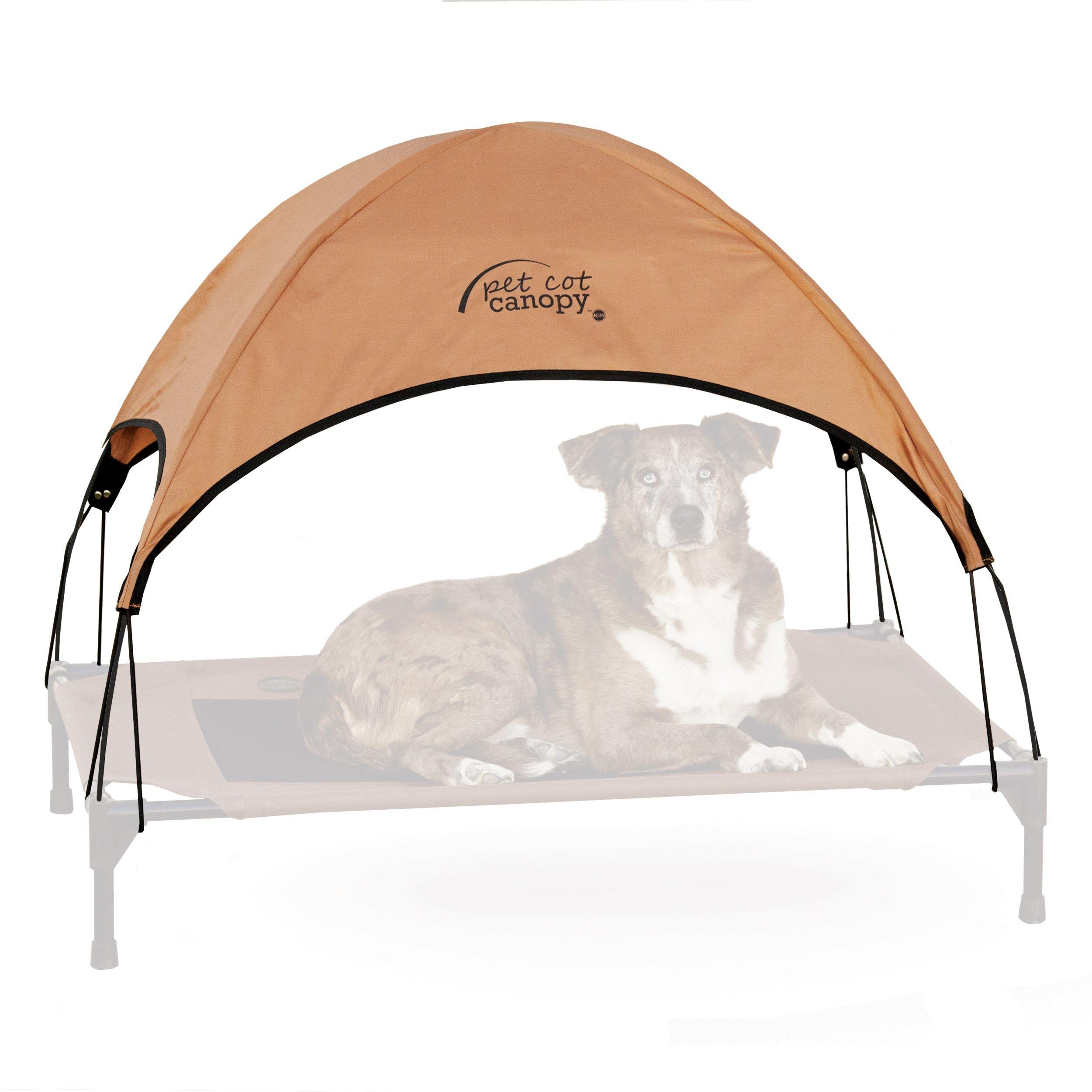 K&H Pet Products Pet Cot Canopy Large Tan 30'' x 42''