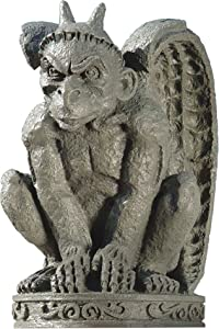 Design Toscano DB24216 The Cathedral Gargoyle Statue,Single