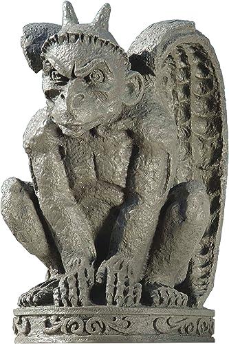 Design Toscano DB24216 The Cathedral Gargoyle Statue,Single
