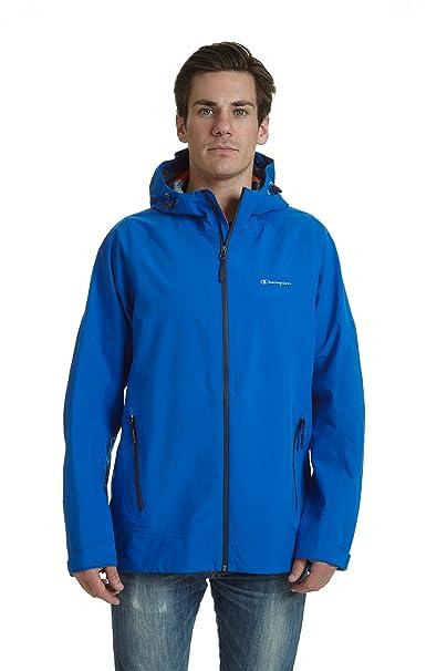 Campeón estirar de hombres chaqueta de lluvia impermeable ...
