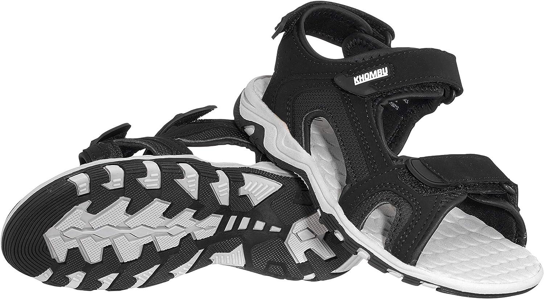 Khombu Boys Sandals (Brady) Adjustable Open-Toe Summer Shoes for Toddler/Little Boy - Outdoor Apparel, Hiking, Beach Sandals, Kids Water Shoes