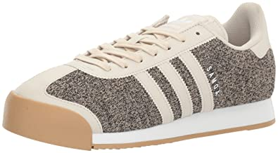 adidas Originals Men's Shoes | Samoa TEX Fashion Sneakers,  Clear/Brown/Bliss Gum
