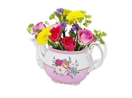 Talking Tables Utterly Scrumptious Teapot Vase Amazon