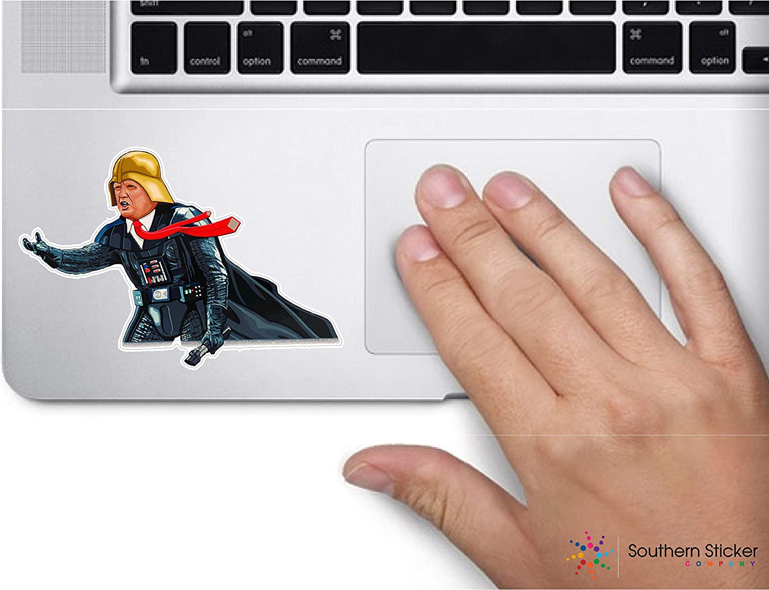 Darth idious Trump Vader 4x3 Size inches USA Sticker Love Baby Laptop car Window Truck 2020 Presidential Bernie Sanders Donald Trump - Made and Shipped in USA