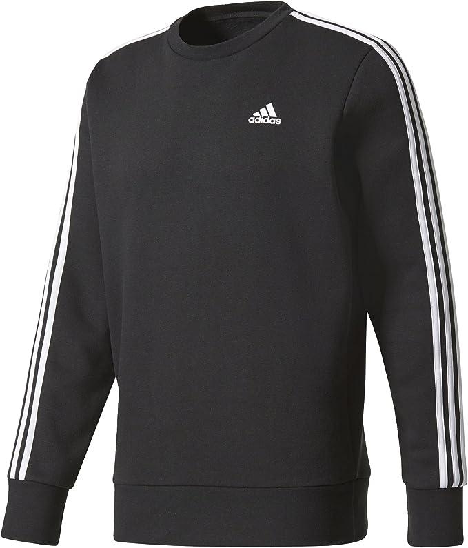 adidas Herren Essentials 3 Stripes Crew B Sweatshirt