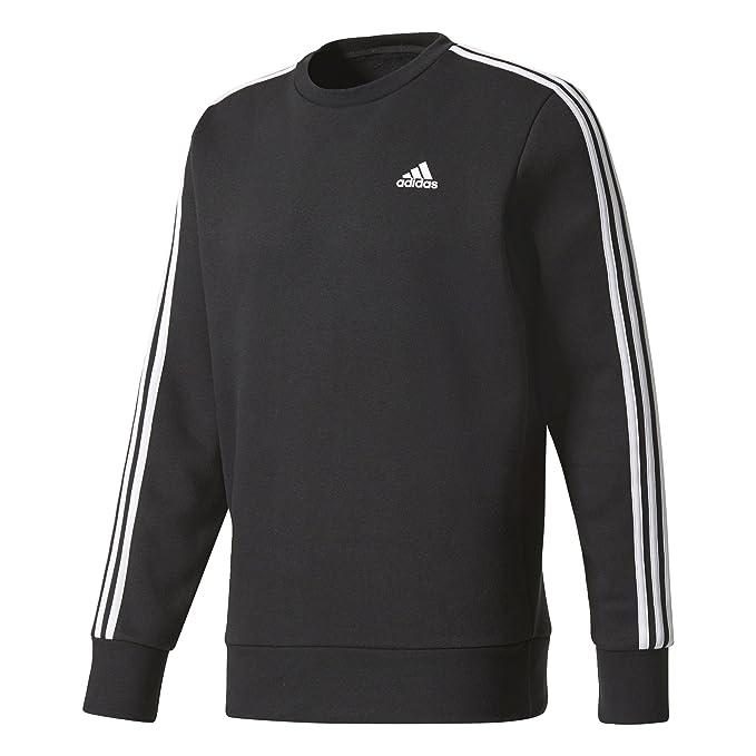 adidas Herren Essentials 3 Streifen Sweatshirt