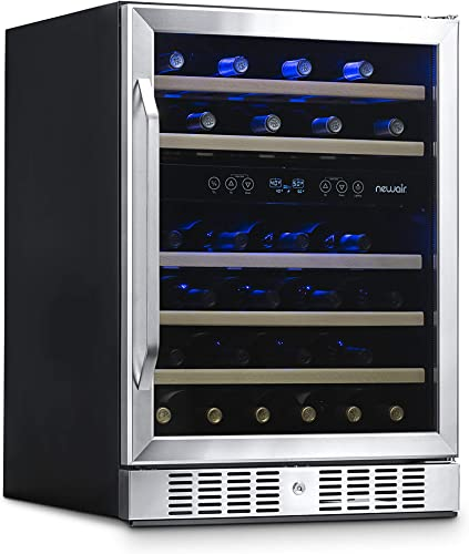 NewAir-Wine-Cooler-with-46-Bottle-Capacity-Built-In-Compressor-Mini-Bar-Fridge