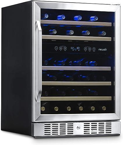 NewAir-Wine-Cooler-with-46-Bottle-Capacity-Built-In-Compressor-Mini-Bar-Fridge