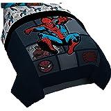 Marvel Spiderman 'Jump Kick' Reversible Twin Comforter