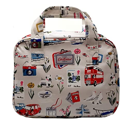 415c37c2a9 Cath Kidston Billie goes on holiday boxbag lunch  handbag  Amazon.co.uk   Shoes   Bags
