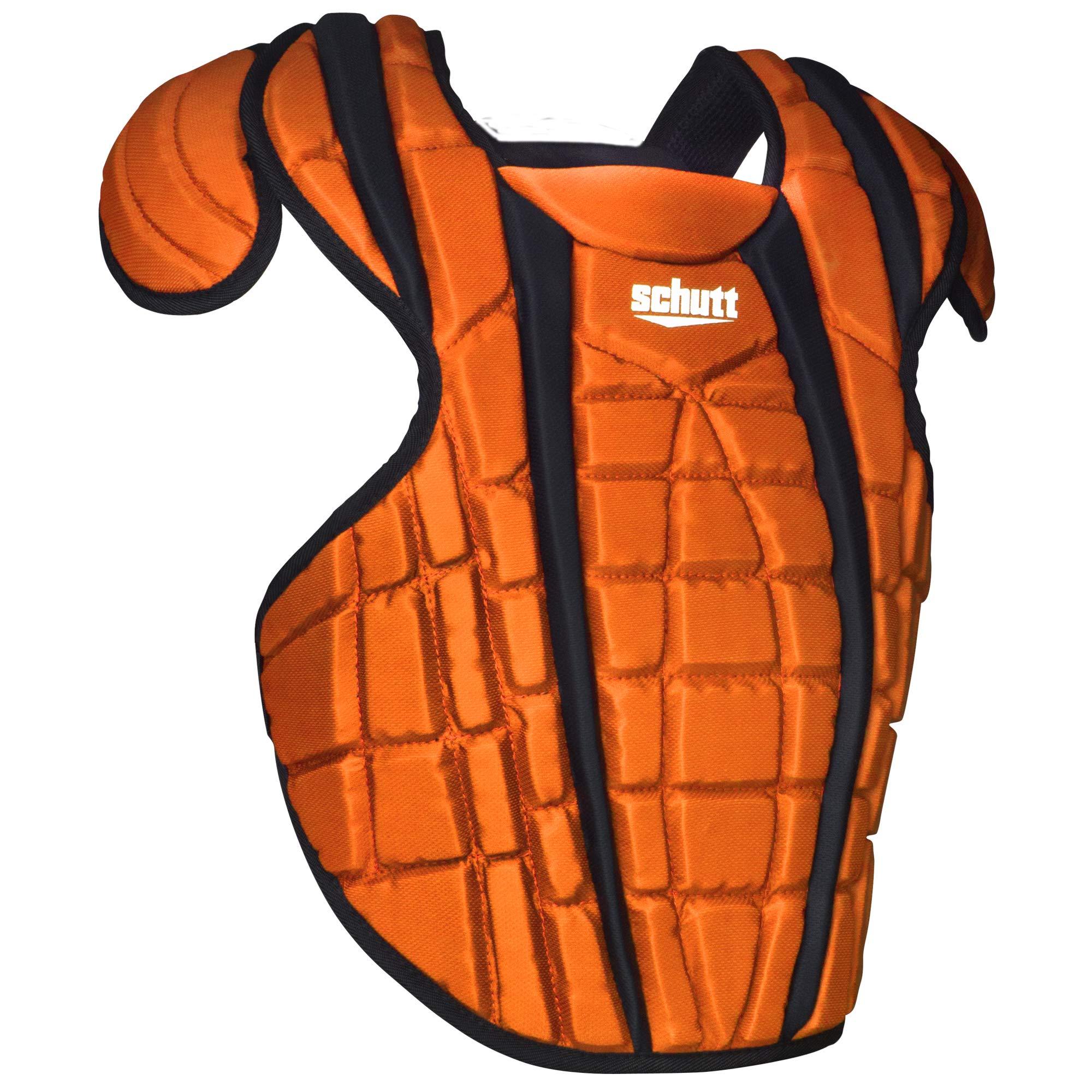 Schutt Sports Scorpion 2.0 Catcher's Chest Protector, Burnt Orange, 12'' by Schutt
