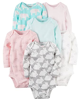2916ea0a3 Amazon.com  6-Pack Original Bodysuits  Clothing