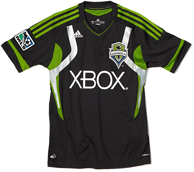 wholesale dealer 308b2 47f75 Amazon.com : MLS Seattle Sounders FC Youth Replica Away ...