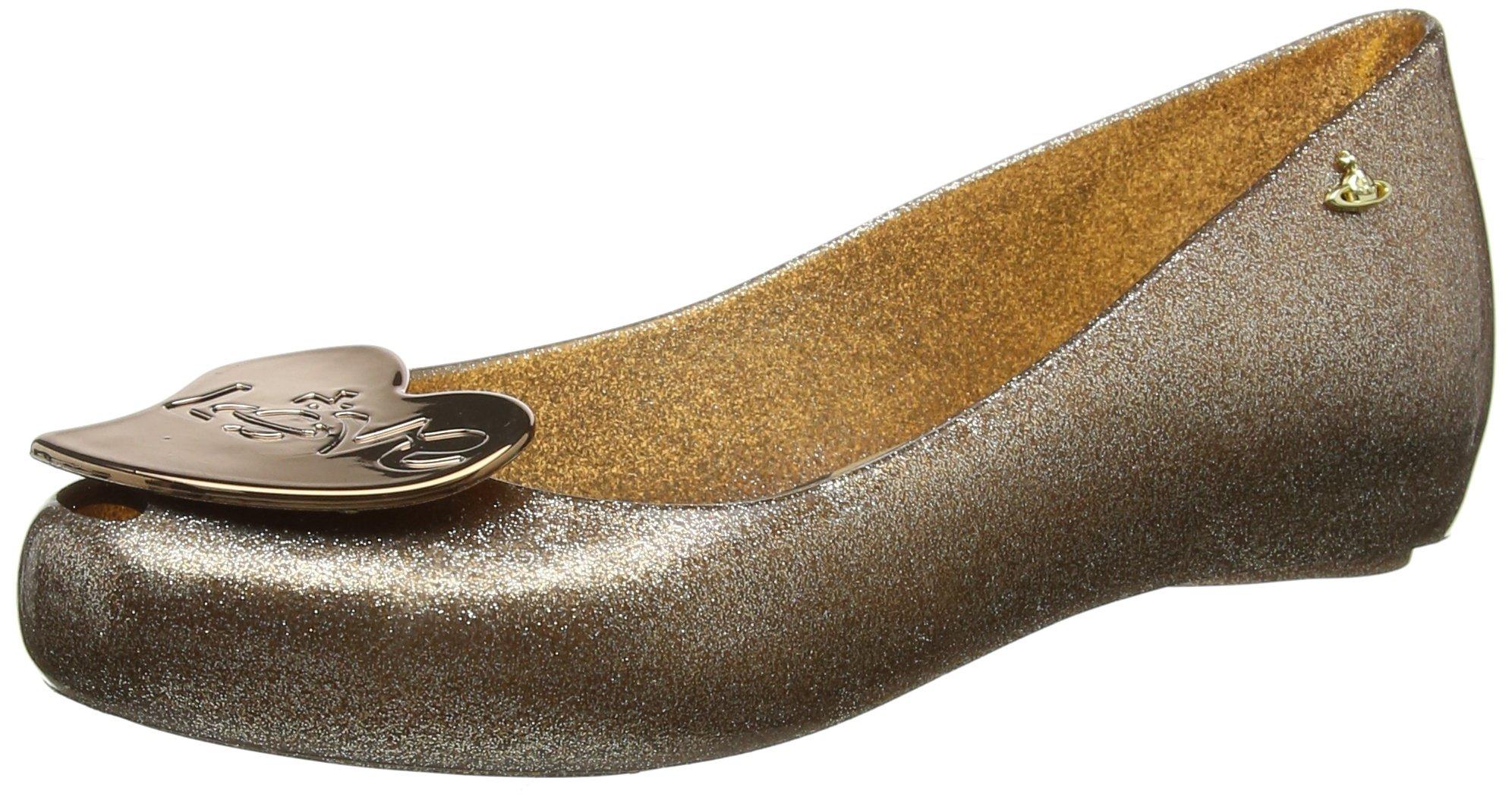 Melissa Vivienne Westwood Ultragirl Love 18 Womens Shoes Metallic