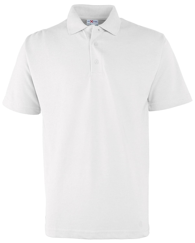 RTXtra - Polo - para Hombre Blanco XXXXL: Amazon.es: Ropa y accesorios