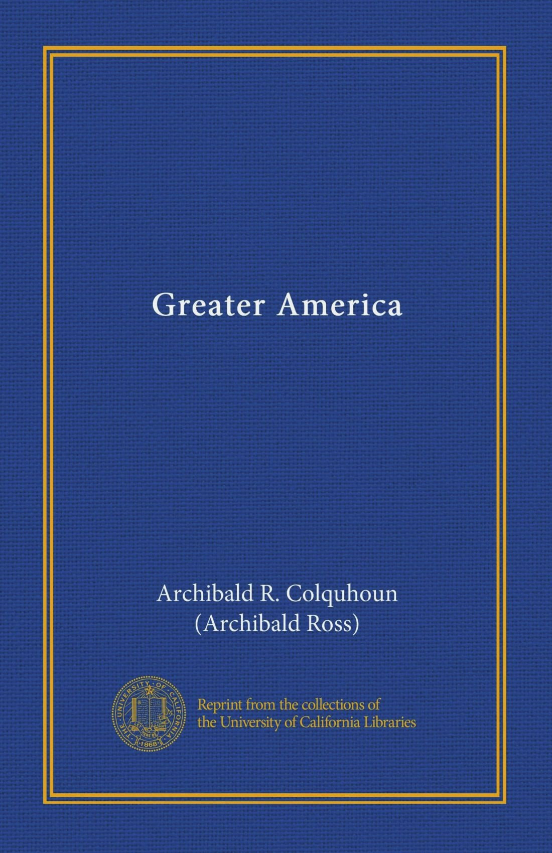 Read Online Greater America ebook