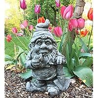 Antikas - enano de piedra decoración jardín