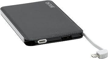 Denver PBS-10002 - Batería Externa portátil (Negro, Teléfono móvil ...