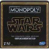Monopoly Star Wars The Complete Saga Edition Board Game – 2 to 6 Players – Ages 8 +