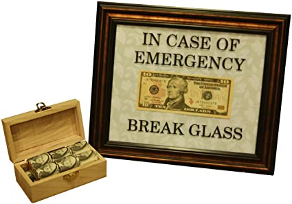 graphic regarding In Case of Emergency Break Glass Printable titled : VINYL DECAL 8X10 In just Situation of Unexpected emergency Crack
