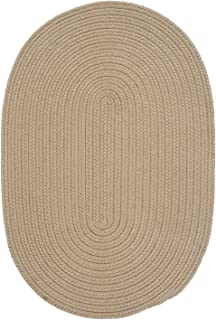 "product image for Colonial Mills Boca Raton Cuban Sand Runner 2'0""x12'0"" Braided Area Rug"