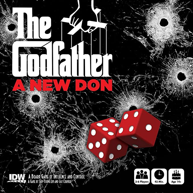 /'An Offer You Can/'t Refuse/' Card Game #NEW IDW Games THE GODFATHER
