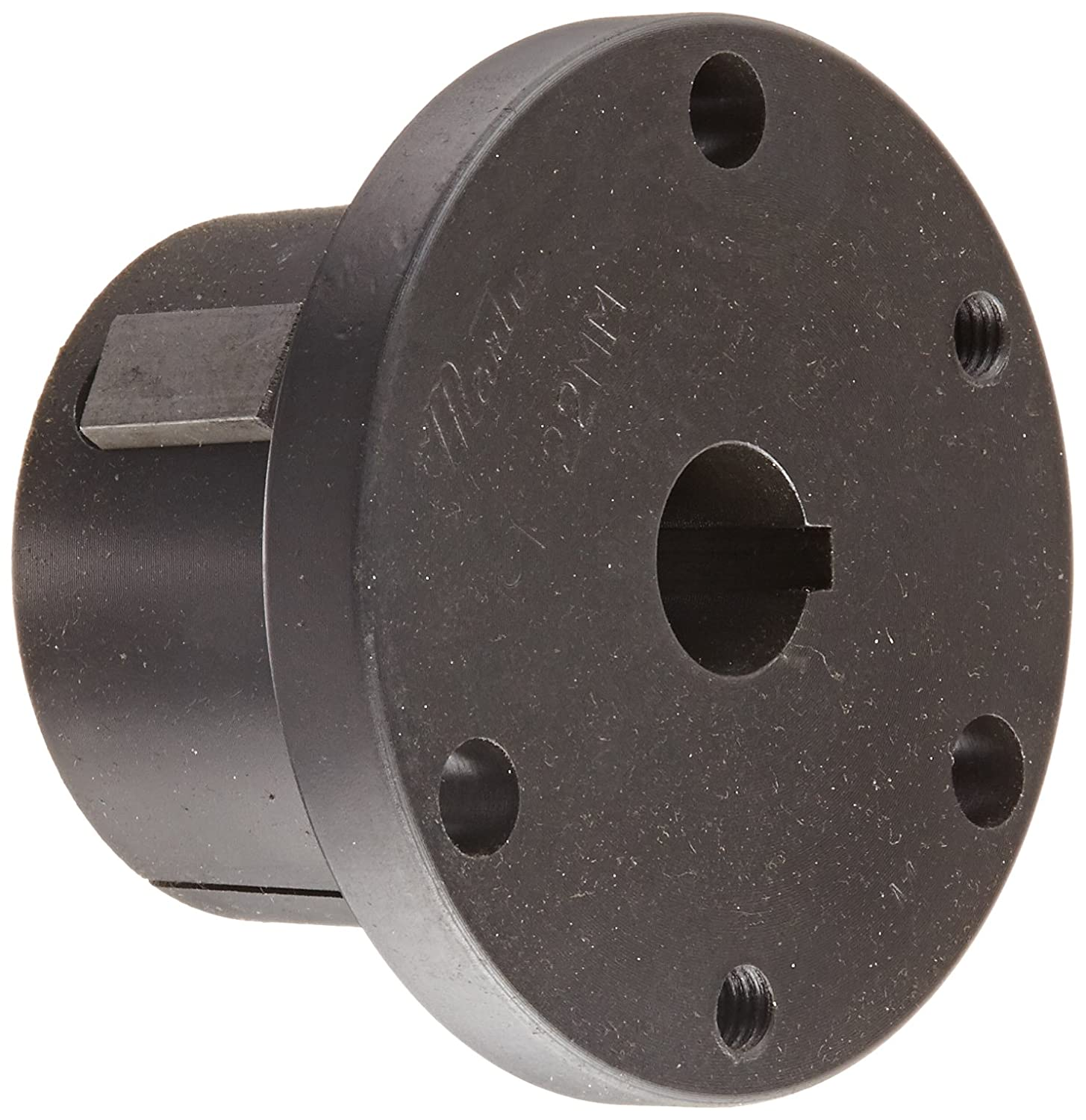 50.8 mm OD Ruland MBS51-25-12-A 2024 or 7075 Aluminum Hubs Bellows Coupling Set Screw Style 25 mm x 12 mm Bores 58.7 mm Length