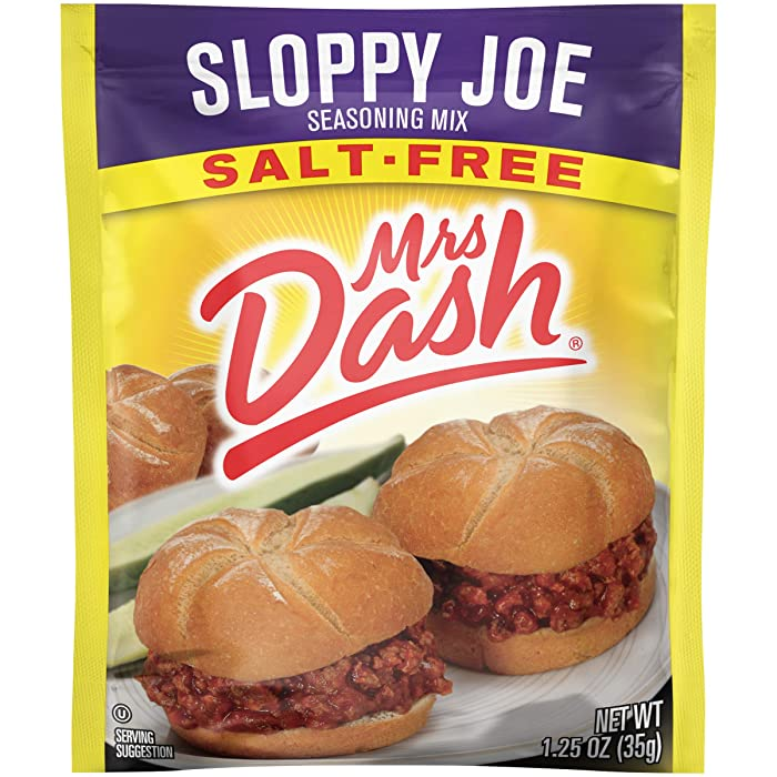 Top 6 Mrs Dash Sloppy Joe