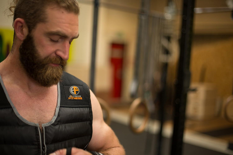 la MMA le crossfit Gilet avec poids/-/5/kg lentra/înement la gym Extreme Fitness/® 10/kg Pour homme Gilet lest/é pour la course 15/kg