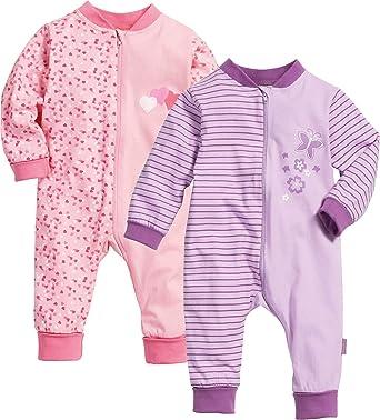 Playshoes Kinder Baby Schlafanzug Overall Strampler Nicki Jersey Jungen Mädchen
