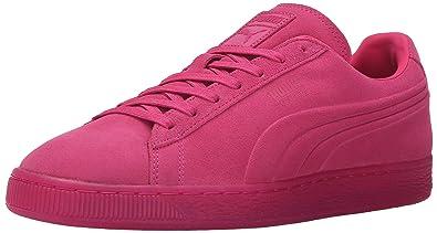 premium selection 21cba 043de PUMA Men's Suede Emboss Iced Fluo Fashion Sneaker